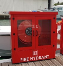 Hydrant Cabinet with swing arm