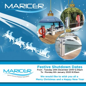 Maricer Christmas Shutdown 2019 - Instagram